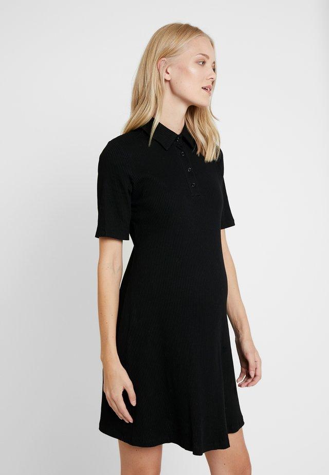 DRESSES - Vestito di maglina - black