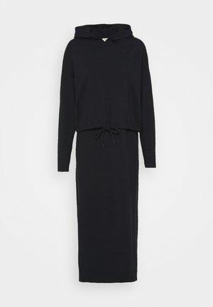 2 IN 1 DRESS - Neulemekko - black