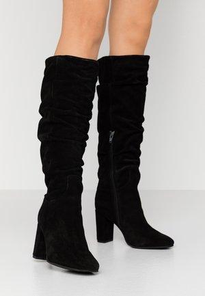 VMBIA BOOT - Vysoká obuv - black
