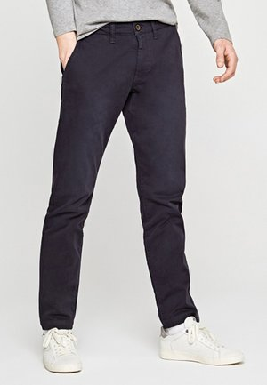 CHARLY - Pantalones chinos - blue