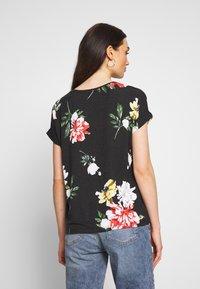 ONLY - Print T-shirt - black - 2