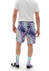 Vans - MN NEW AGE BOARDSHORT - Shorts - new age purple tie dye - 1