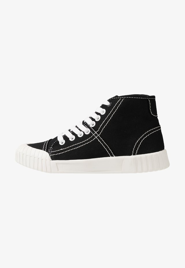 BAGGER - High-top trainers - black