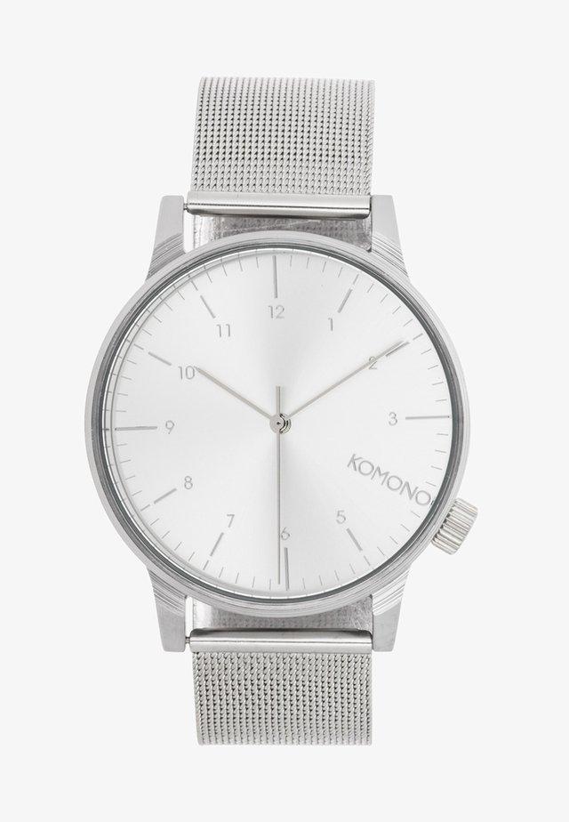 WINSTON - Watch - silver