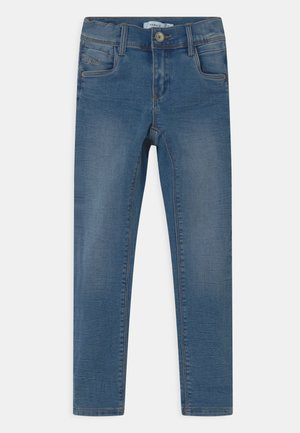 NMFPOLLY - Slim fit jeans - medium blue denim