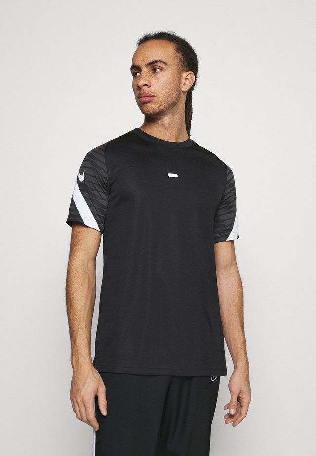 STRIKE  - Print T-shirt - black/anthracite/white