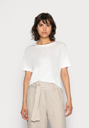 UTA  - T-shirt basic - clear cream
