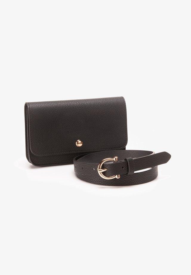 Bum bag - black-black