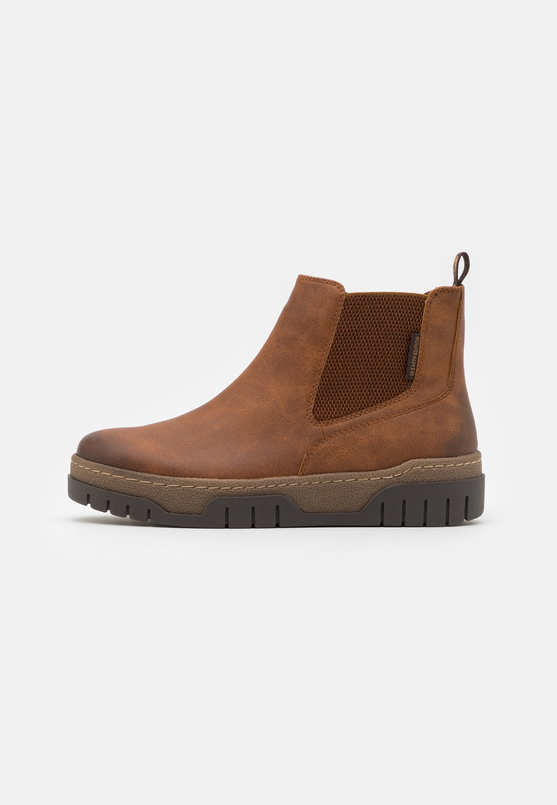 Love Our Planet By Marco Tozzi Ankle Boot - Cognac/cognac