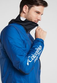 Columbia - ROGUE RUNNER WIND JACKET - Hardshelljacke - marine blue/black - 3