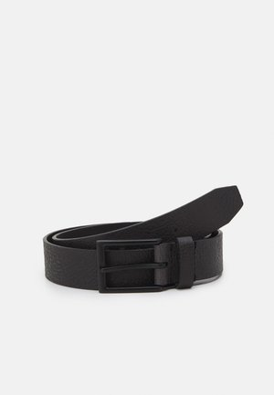 LEATHER UNISEX - Belt - black