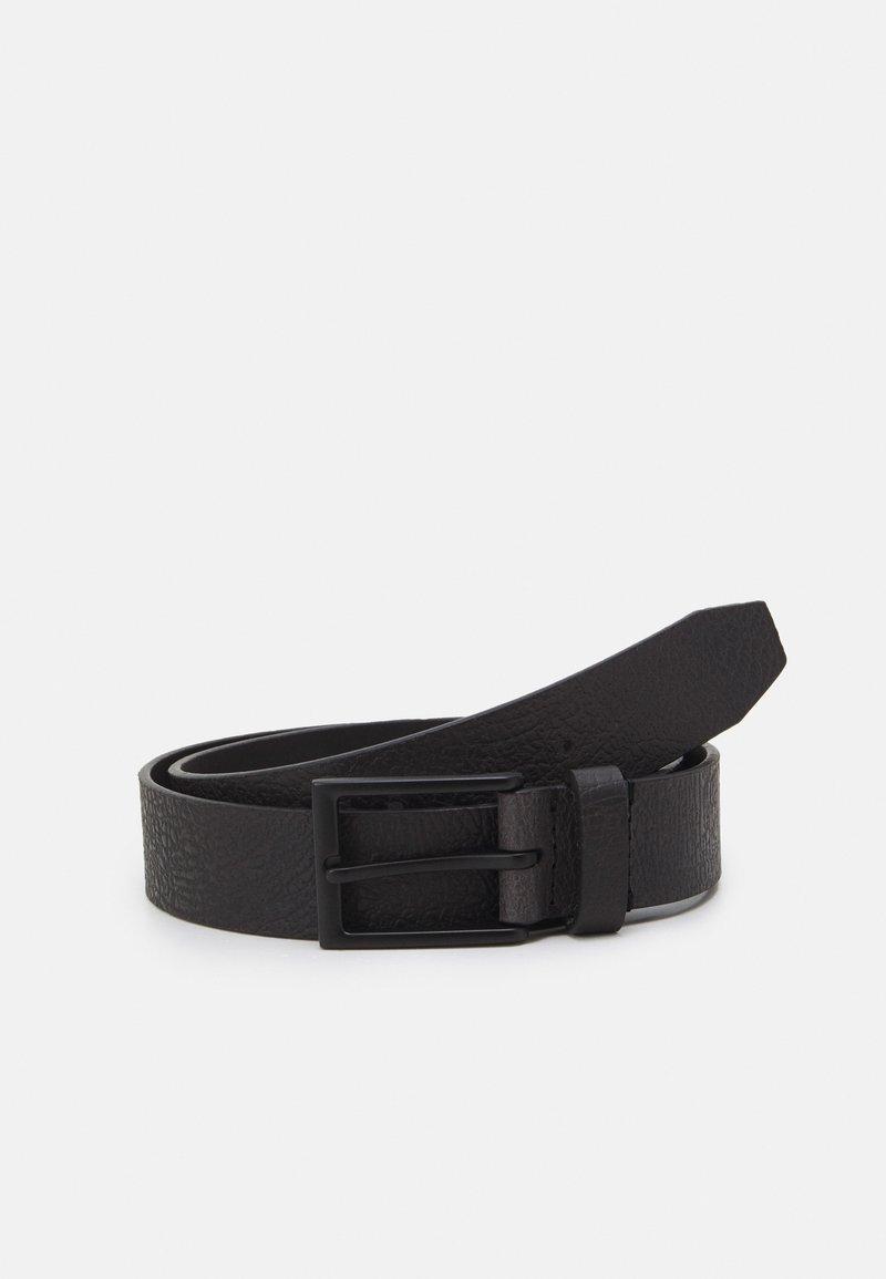 Zign - LEATHER UNISEX - Cintura - black