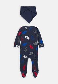 Nike Sportswear - FUTURA TOSS COVERALL SET - Foulard - midnight navy - 1