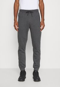Pier One - Pantaloni sportivi - mottled dark grey - 0