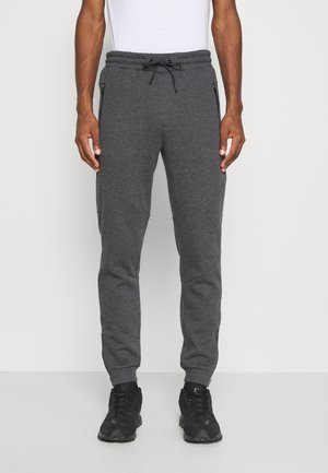 Tracksuit bottoms - mottled dark grey