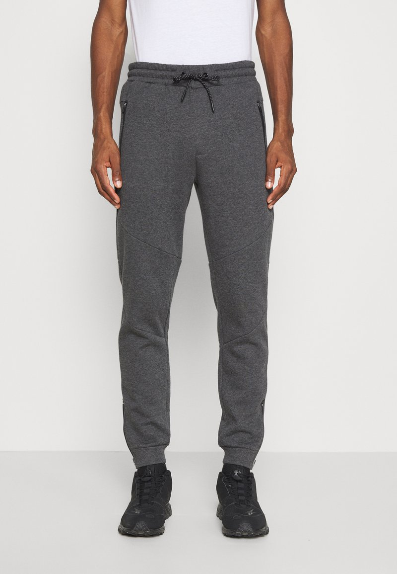 Pier One - Pantaloni sportivi - mottled dark grey