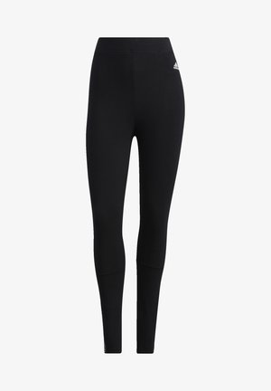 ESSENTIALS TAPE HIGH-RISE LEGGINGS - Collants - black