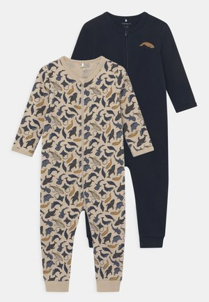 NBMNIGHTSUIT 2 PACK - Pyjamas - peyote