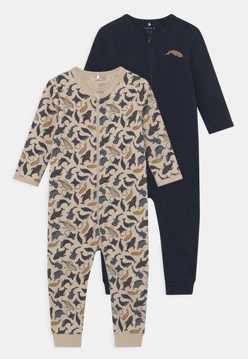 NBMNIGHTSUIT 2 PACK - Pyjamas - peyote