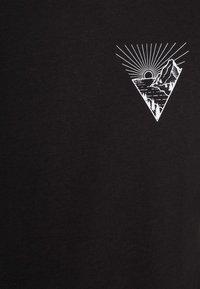 Pier One - T-shirt med print - black - 4