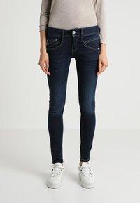 Herrlicher - GILA SLIM - Slim fit jeans - blue denim - 0