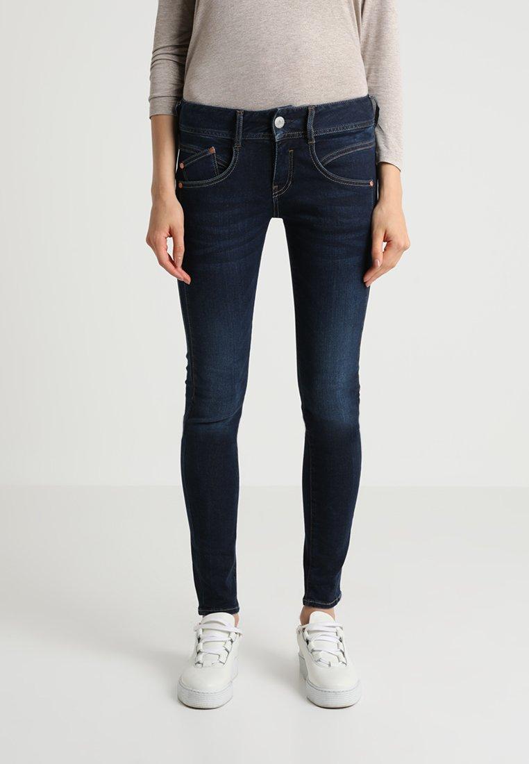 Herrlicher - GILA SLIM - Slim fit jeans - blue denim