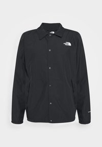 WALLS ARE MEANT FOR CLIMBING COACHE - Veste softshell - black
