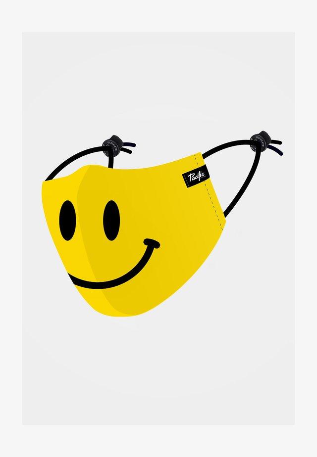 Maschera in tessuto - yellow