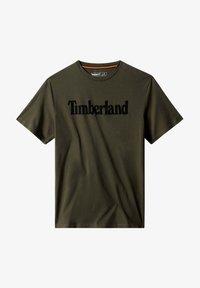 Timberland - KENNEBEC RIVER LINEAR TEE - Print T-shirt - grape leaf - 3