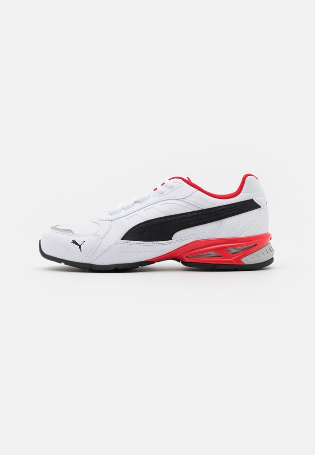 RESPIN - Chaussures de running neutres - white/black/silver/high risk red