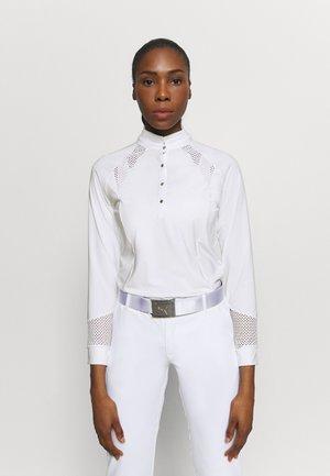 LINNEA - Long sleeved top - white