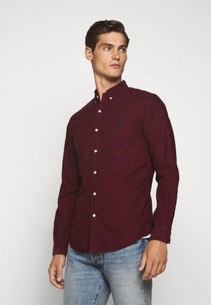 LONG SLEEVE SPORT - Hemd - classic wine