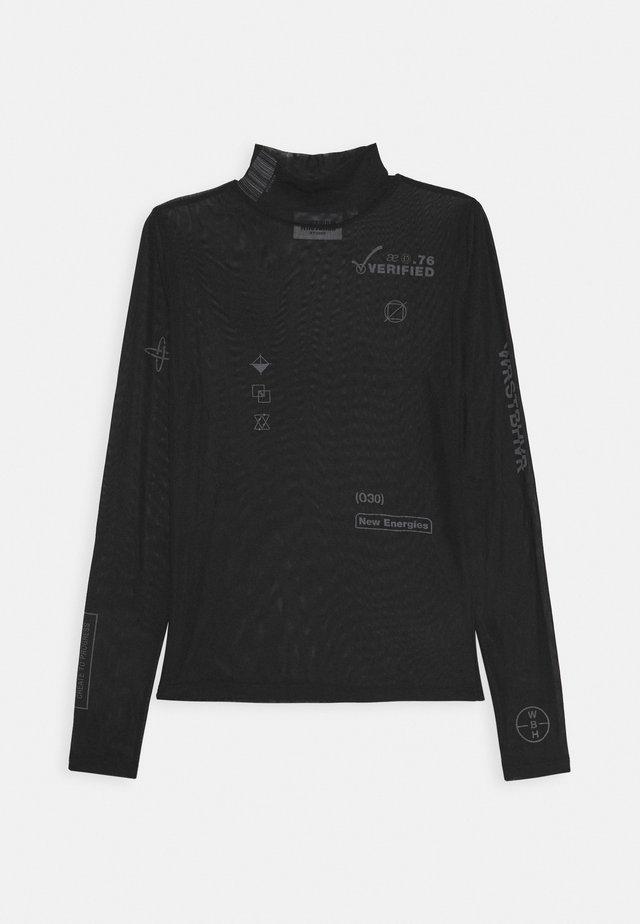 RIRI LONGSLEEVE - Bluse - black