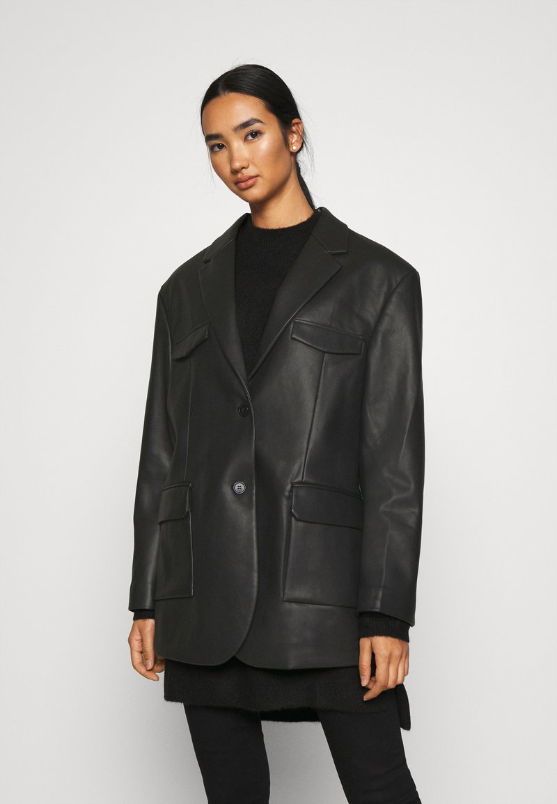 Monki - Blazer - black