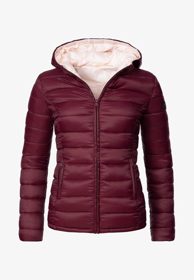 LUCY - Winterjas - burgundy