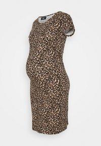 ONLY - OLMLOVELY  LIFE LEO O NECK  - Jersey dress - black - 0