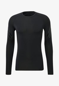 adidas Performance - ALPHASKIN TECH 3-STRIPES LONG-SLEEVE TOP - Sports shirt - black - 4