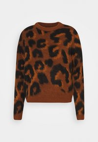 ONLY - ONLNEW RANJA - Jumper - picante/gold flame/black - 0