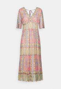 Derhy - STRUCTURE DRESS - Sukienka letnia - pink - 0