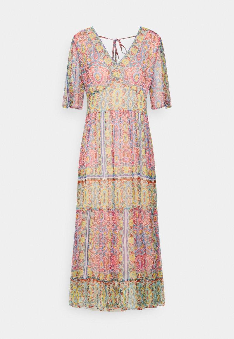 Derhy - STRUCTURE DRESS - Sukienka letnia - pink