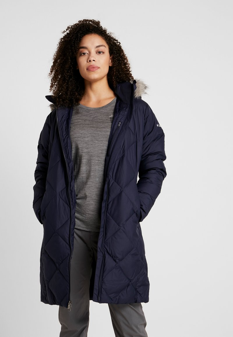 Columbia - ICY HEIGHTS MID LENGTH JACKET - Down coat - dark nocturnal
