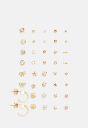 PCQANZA EARSTUDS  20 PACK - Earrings - gold-coloured