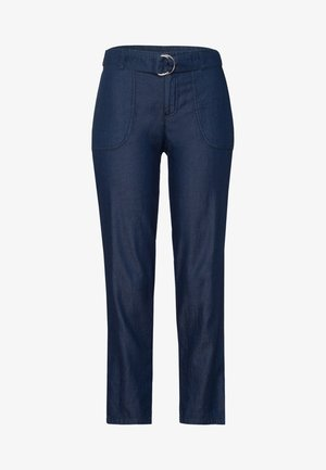 Trousers - dark blue wash out