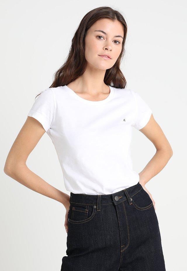 2 PACK - T-shirt basique - white/white