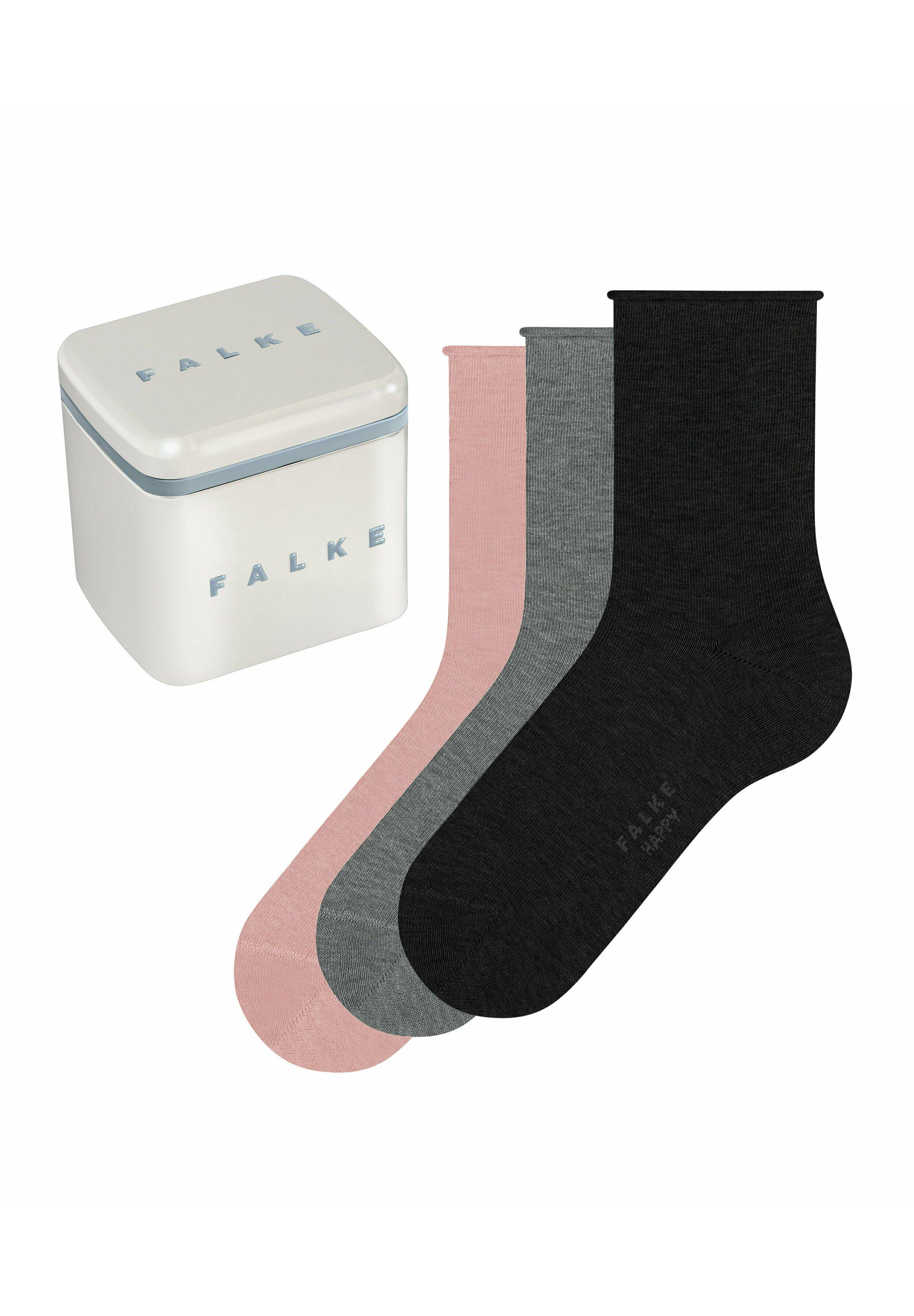 Damen 3-PACK HAPPY BOX - Socken - sortiment