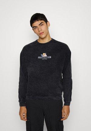 CREW FEELINGS - Sweatshirt - black