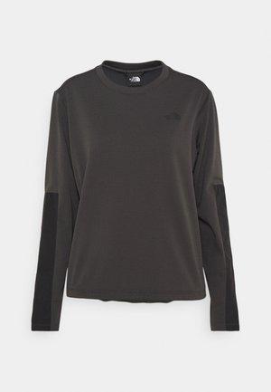 WAYROUTE CREW ASPHALT - Sweatshirt - anthracite/black