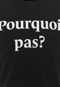 Les Petits Basics - POURQUOI PAS PRINT UNISEX - Print T-shirt - black - 2