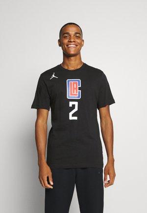 NBA LA CLIPPERS KAWHI LEONARD NAME NUMBER TEE - Club wear - black