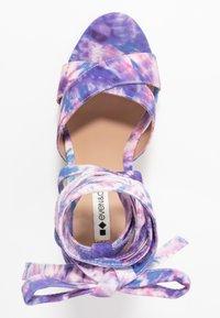 Even&Odd - Korolliset sandaalit - pink/blue - 3